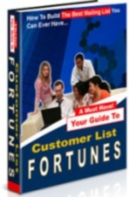 Product picture Customer list fortune - Discover how to make money online